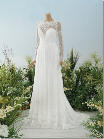 Pronovias- model allegra